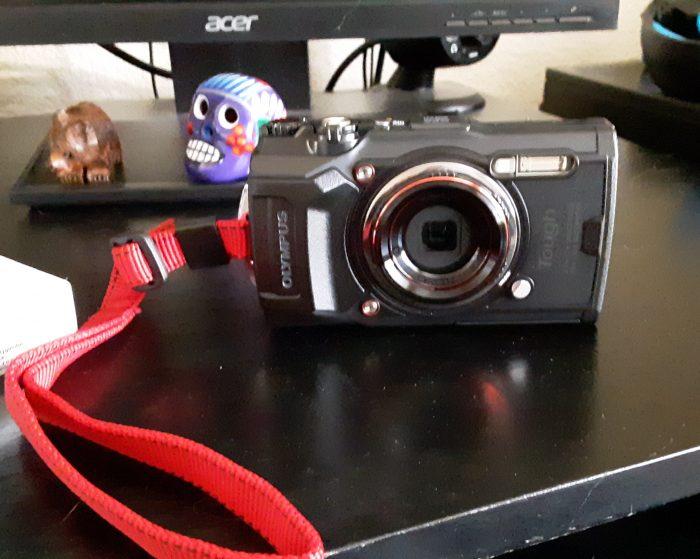 an olympus camera