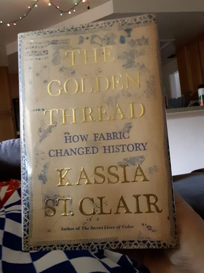 book: The golden thread by Kassia St. Clair