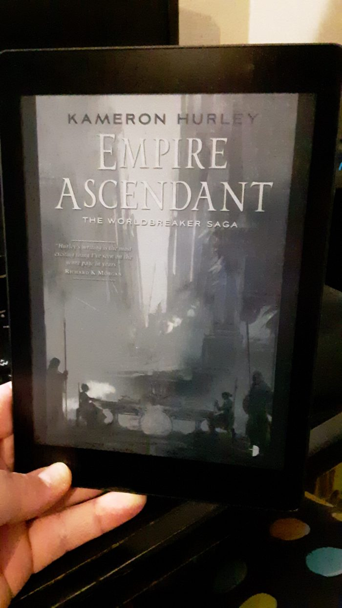 book cover for Empire Ascendant on the Kobo ereader