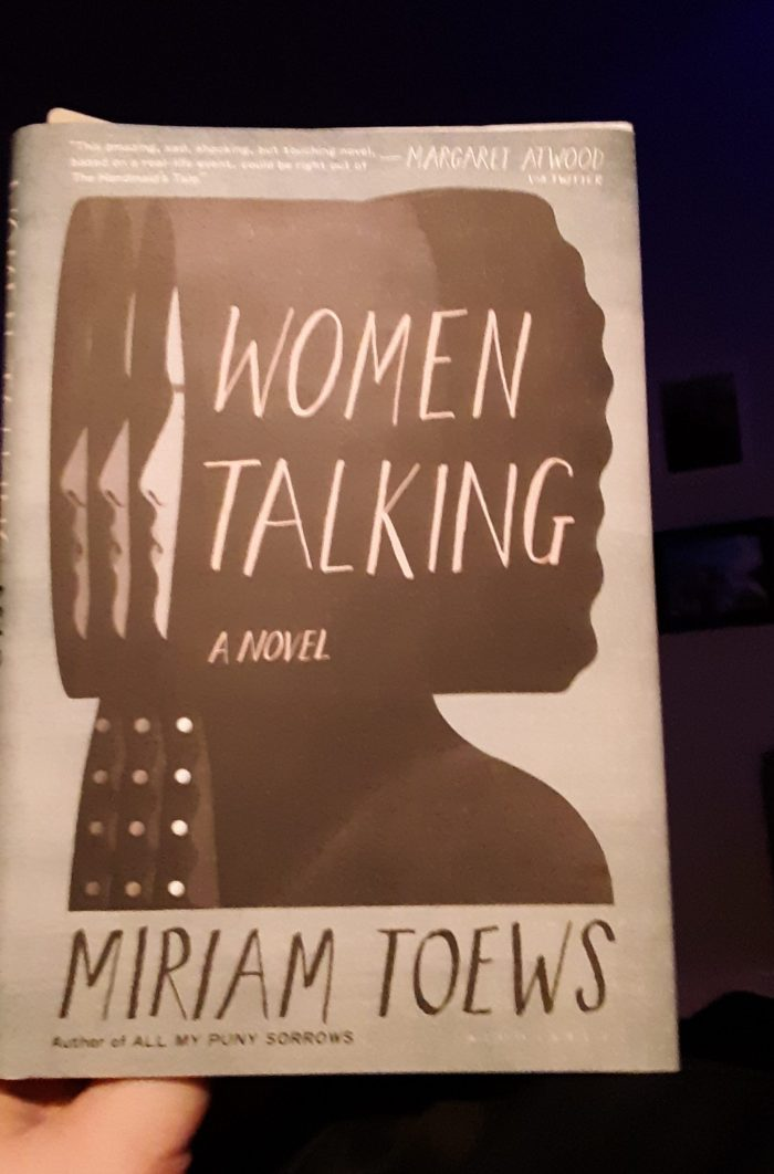 "book ""Women Talking"" by Miriam Toews"