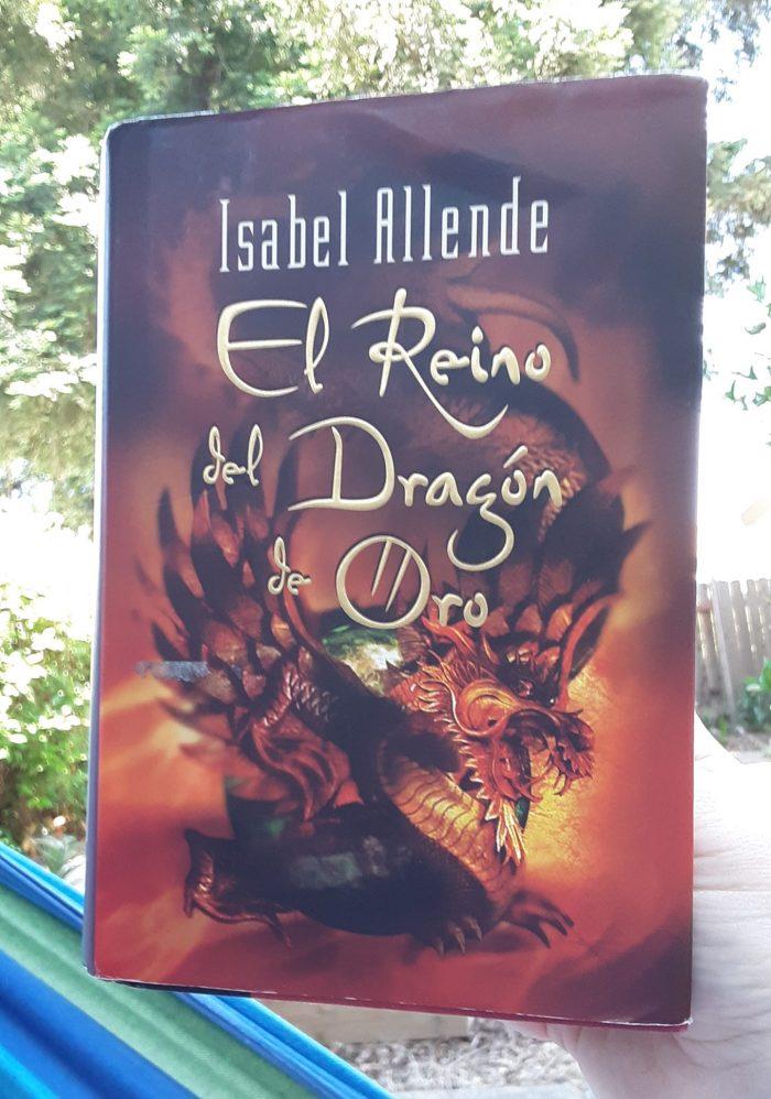 book cover: El Reino del Dragón de Oro
