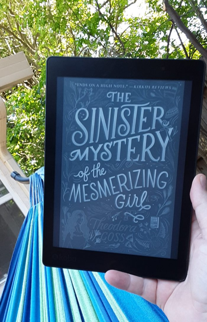 book cover of The Sinister Mystery of the Mesmerizing Girl as seen on kobo ereader
