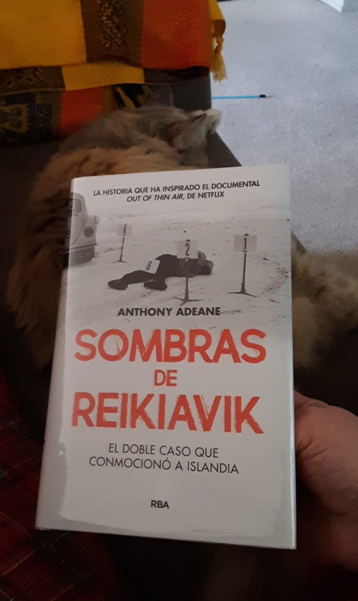 book cover of Sombras de Reikiavik