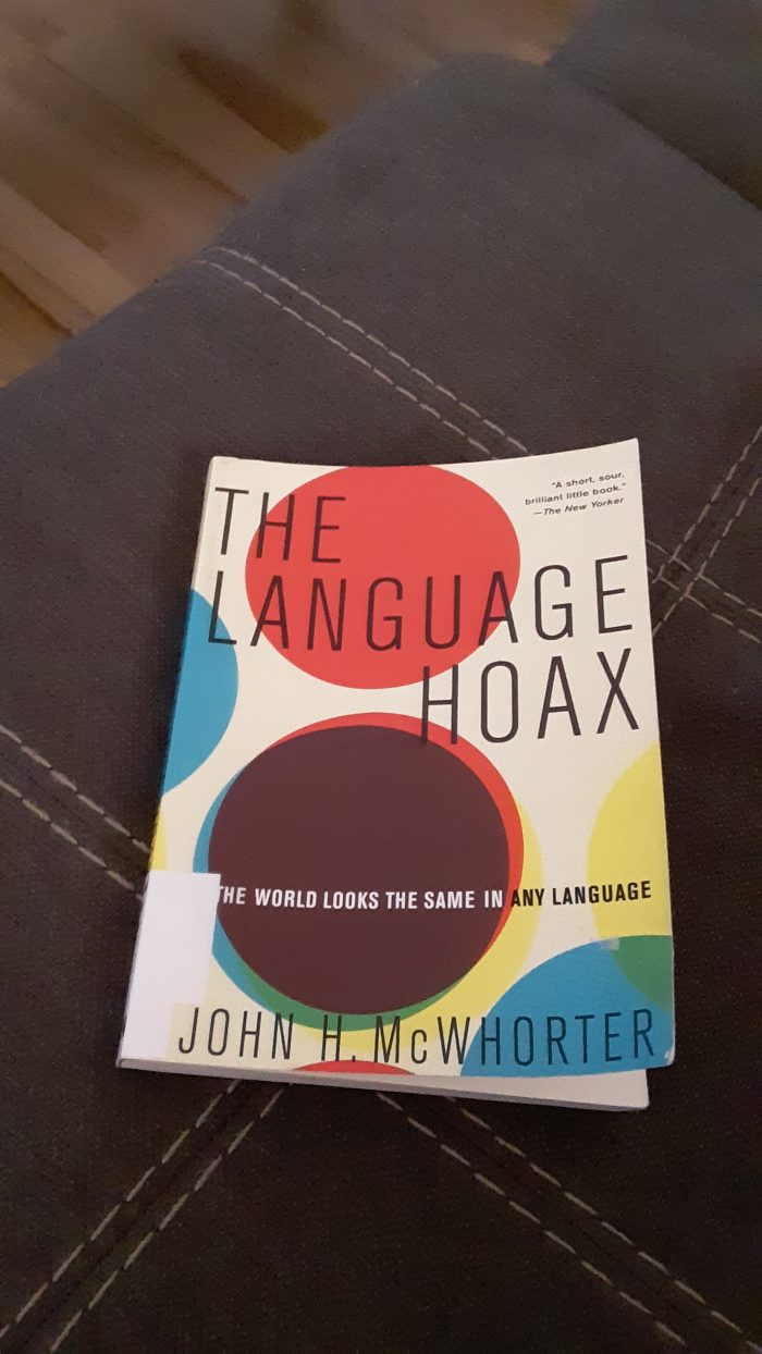 Book: The Language Hoax