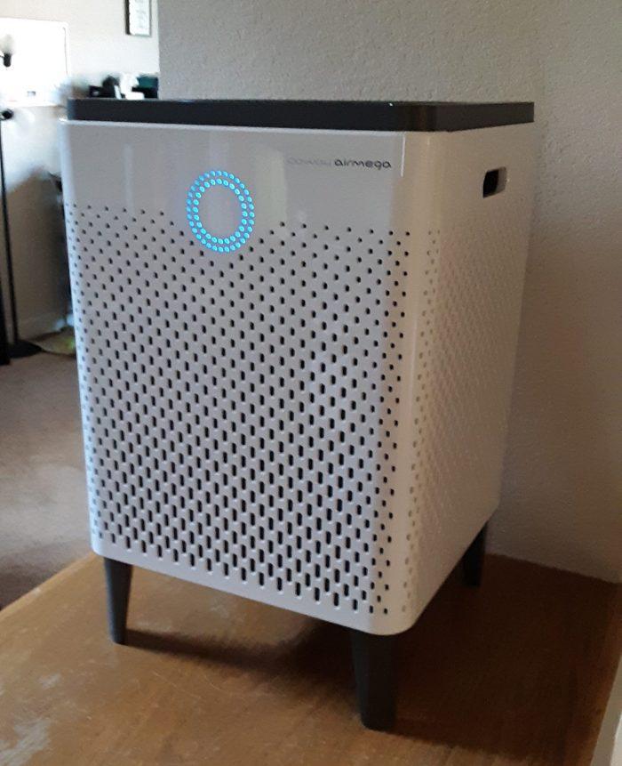 coway airmega air purifier in my house