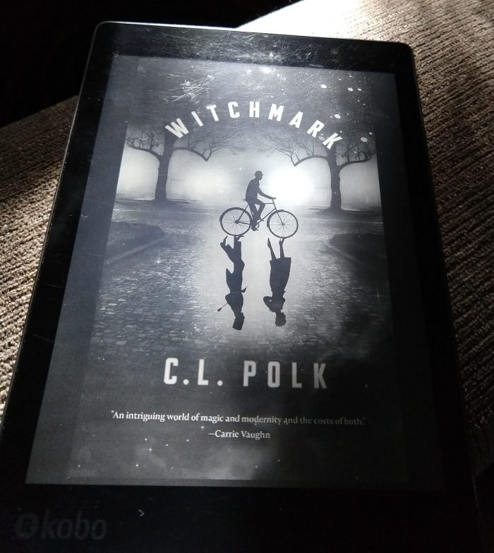book cover on kobo ereader: Witchmark by C.L. Polk