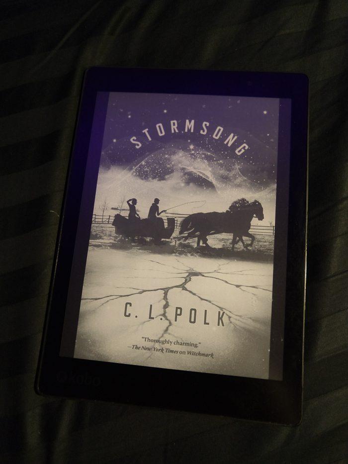 book cover on kobo ereader: Stormsong by C.L. Polk
