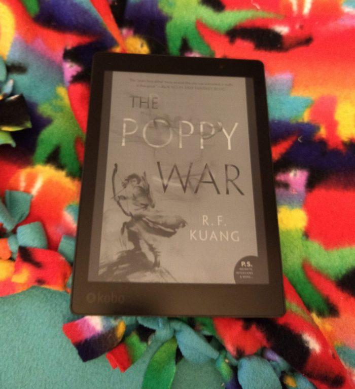 book cover on Kobo ereader: The Poppy War